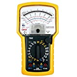 perlo33ER KT7040 Sensitive Pointer Analog Multimeter OHM Messwerkzeug Precise Tester - Schwarz + Gelb