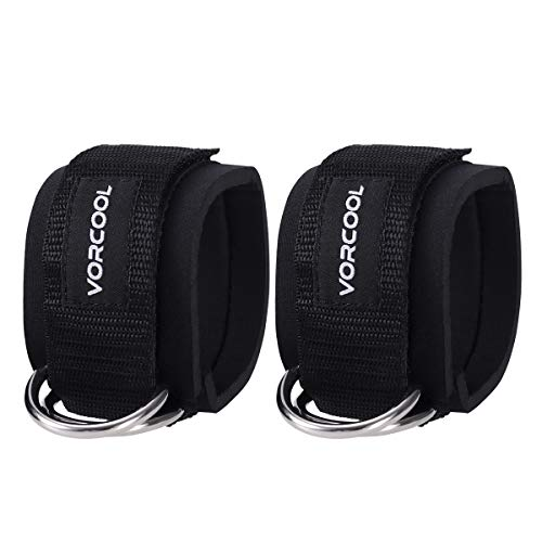 VORCOOL 2pcs Sport Tobillo Correas Acolchado Anillo