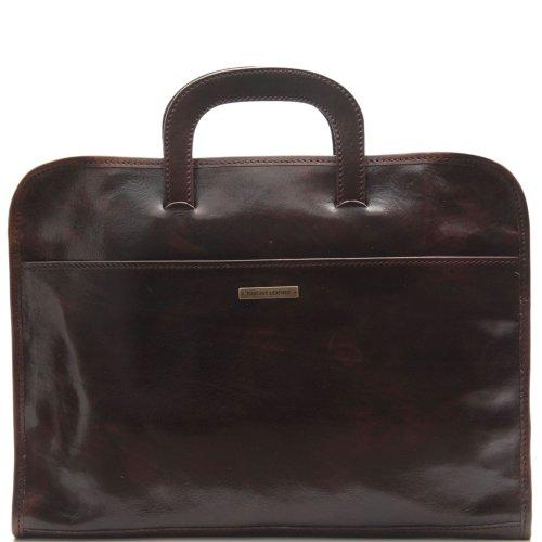 Tuscany Leather, Borsa a mano uomo Marrone marrone