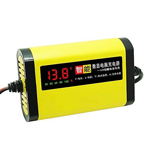 TOOGOO Spina di Carica della Batteria del Display Digitale per Auto e Moto 30W 12V 2A