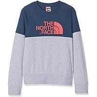 The North Face T93L6M Camiseta De Manga Corta, Unisex niños, Blue Wing Teal, XL