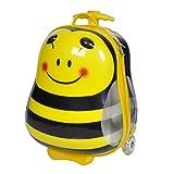 Knorrtoys 14503 - Bouncie Trolley Bee mit blinkenden Rädern