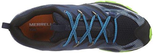 Merrell Grassbow Rider, Chaussures de Randonnée Basses Homme bleu (BRIGHT BLUE)
