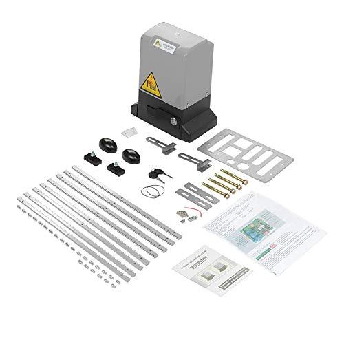 shuaishuang573 EU 600KG automatische elektrische Schiebetor Motor Opener Kit mit 8PCS Zahnstangen -