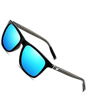 Gafas de sol polarizadas Hombre Mujer vasos para Outdoor Sport, 100% protección UVA gafas unisex Moderno conductores...