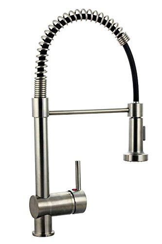 2 Loch Geschirrbrause mit separatem Wasserhahn Küchenarmatur Spültisch Spüle TOP