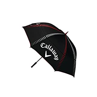 Callaway Golf Tour Authentic 68 Double Automatic Umbrellas, Black, One Size