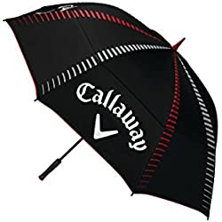 Callaway Tour Authentic 68 Double Automatic Paraguas de Golf, Unisex Adulto, Negro, Talla Única