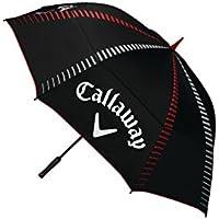 Callaway Tour Authentic 68 Double Automatic Paraguas de Golf, Unisex Adulto, Negro, Talla Única