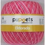 50g Puppets eldorado - Farbe: 38 - pink meliert - Häkelgarn Stärke 10