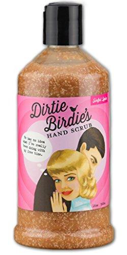 Pumpkin Spice Scent Hand Scrub - Dirtie Birdie's Sinful Spice Hand Cleaner (16oz), Gluten Free & Vegan Friendly