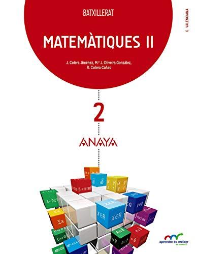 Matemàtiques II (Aprendre és créixer en connexió)