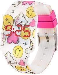 289e923129e7 Reloj LED Digital Chica se Ilumina en la Oscuridad