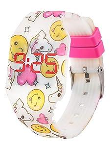 Reloj LED Digital Chica se