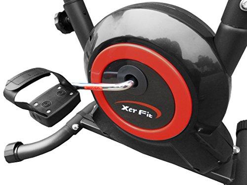 Xerfit-Unisex-Exercise-Bike-BlackRed-One-Size