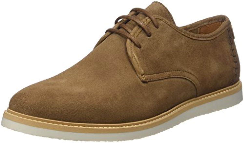 Schmoove Fly Suede, Zapatos de Cordones Derby para Hombre -