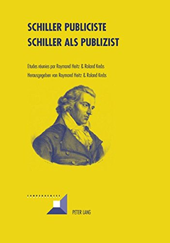 Schiller Publiciste- Schiller ALS Publizist