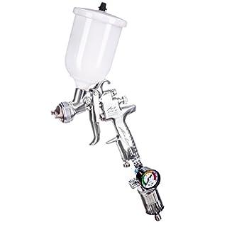 ANEST IWATA AZ3Airgunsa HTE2AV Paint Spray Gun Airbrush Tool Kit Set - Düsengröße: 1,0mm
