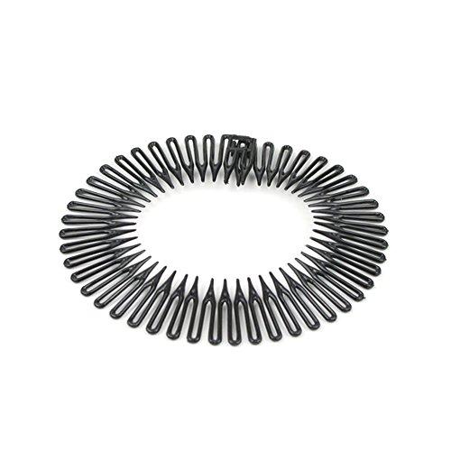 Zick-Zack-Haarreif in schwarz 020-00224