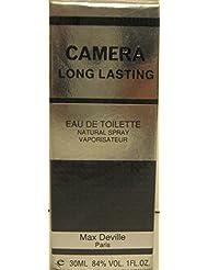 Camera Long Lasting for Men 1.0 Oz Eau De Toilette Spray Bottle By Max Devile by MNAX DEVILLE