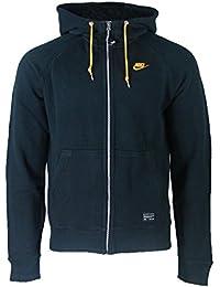 Nike aW77 veste à capuche en polaire avec logo aux couleurs de la juventus de turin