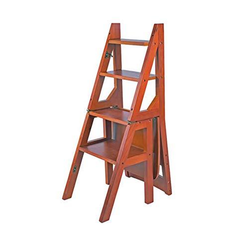 XUERUI Klappstühle Stuhl Falten Schritt Schemel Sitze Zurück Treppe 4 Stockwerk Leiter Möbel Möbel Stühle (Color : T2) - Pick T2