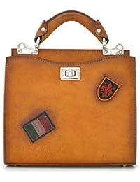 Pratesi Lady Bag Anna Maria Luisa de' Medici Small in cow leather - Bruce Cognac