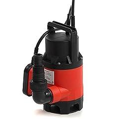 Rotfuchs Tauchpumpe SPD401.EXT für Schmutzwasser 6500 Liter/h 400 watt