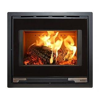 Aduro 5 Inset - Danish Black7kW wood burning stove