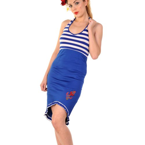 Banned robe robe 582 bleu marine) Bleu - Bleu