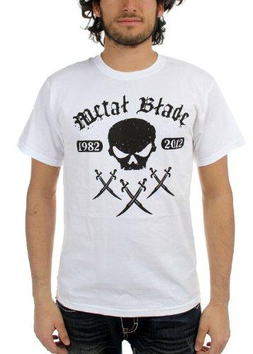 Metal Blade Records 30XXX-Maglietta a maniche corte, da uomo, colore: bianco bianco Medium