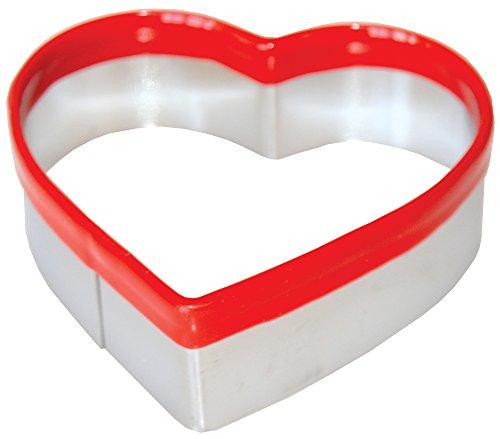 Ergonomische Keksausstecher, Plätzchen - Ausstechformen HERZ 5,7 x 6 cm