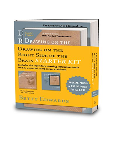 Drawing on the Right Side of the Brain Starter Kit por Betty Edwards