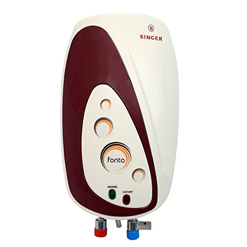 Singer Fonta Instant Water heater with 3 Ltr Capacity