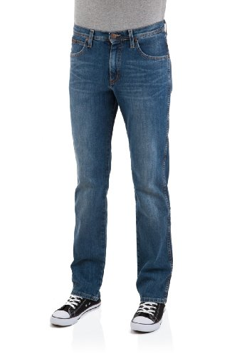 Canyon-stretch-jeans (Wrangler Herren Jeans Arizona Stretch Straight Fit canyon blue)