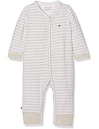 Tommy Hilfiger Stripe Jersey Baby Coverall, Polaina para Bebés