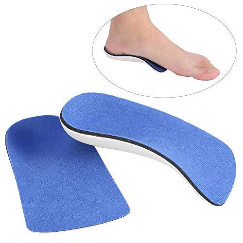 Halb EVA Arch Support Orthopädische Einlegesohlen Fußkorrektur Schuheinlagen Pads für Männer Frauen(S) -