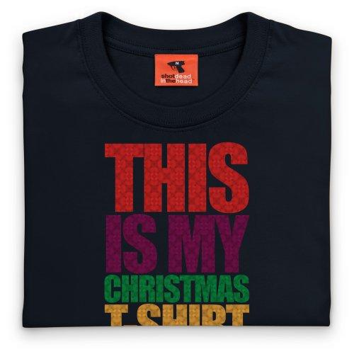 Xmas T-Shirt, Damen Schwarz