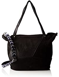 Mila Louise - Omere Noir, Shoppers y bolsos de hombro Mujer, 18x29x29 cm (W x H L)