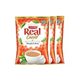 #7: Real Gold Tea, 750 Gm (Pack of 3, 250 gm X 3) Premium Quality Black Tea