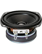 ERH INDIA 4 inch Subwoofer, 4 ohm Home Theater Woofer (Black)