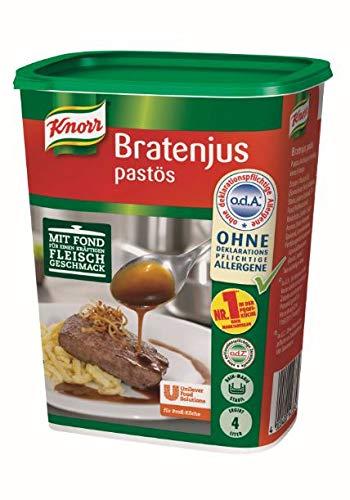 Knorr Bratenjus pastös, vielseitig anwendbar für Bratensaft, Bratensoße (gravy) und braune Soße 1er pack (1 x 0,4kg) -