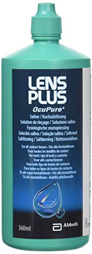 AMO Lens Plus Ocupure Saline, 360 ml