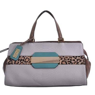 2014 sac à main GUESS léopard SUZA VG436705 pierre noire - Femme