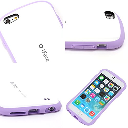 iFace First Class Pastel Series case for iPhone 6 / iPhone 6s (White/Purple) White/Pink