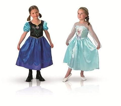 Elsa Et Olaf Costumes - Déguisement duo Anna et Elsa La Reine