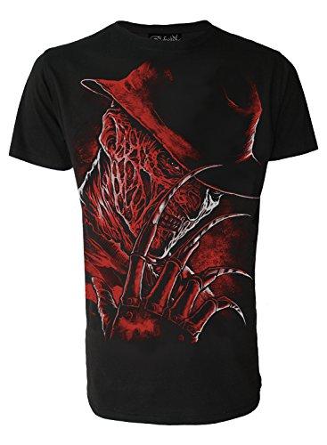 Inspired by Freddy Krueger Nightmare On Elm Street Horror Movie Genuine Darkside Mens T Shirt