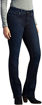 Lee Women's Petite Modern Series Curvy Bootcut Jean with Hidden Pocket