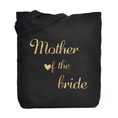 2018 Nueva ElegantPark Mother of the Bride Groom Donne Shopper Naturale Tela 100% Cotone Tote Bags Media Scarpe Regalo Borsa Mother of the Bride Encontrará Una Gran Línea Descontar Más Reciente WFU3HmR1vq