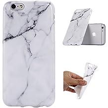 iPhone 5 / 5S / SE Carcasa , ZXLZKQ De Alta Calidad Blanco Negro Natural Mármol 3D TPU Gel Cubierta De Suave Silicona Funda Tapa para Apple iPhone 5 / 5S / SE (no para iPhone 5C)